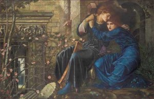 Burne-Jones, Amore tra le rovine