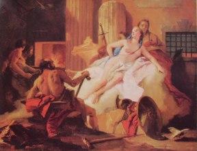 47 Gian Battista Tiepolo - Venere e Vulcano