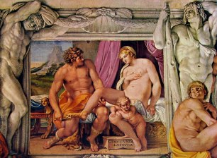54 Carracci - venere e anchise