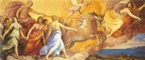 Guido Reni, L'aurora, Casino dell'Aurora, Palazzo Rospigliosi, Roma