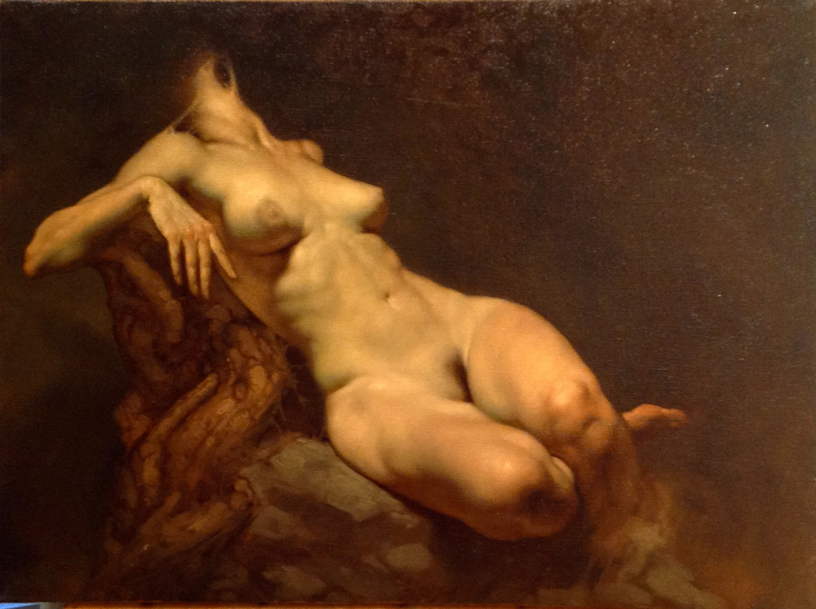 Nude painting classical