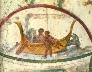 catacombe ss marcellino e pietro roma IV sec
