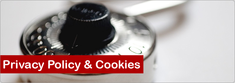 A) privacy policy & cookies