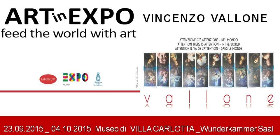 Vincenzo Vallone, Attenzione, c'è attenzione nel mondo!