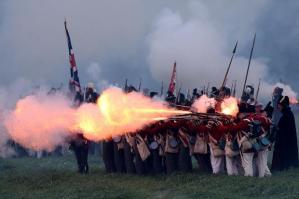 rievocazione storica waterloo-inglesi