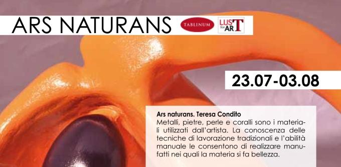 #LustforArt #TeresaCondito #Tablinum