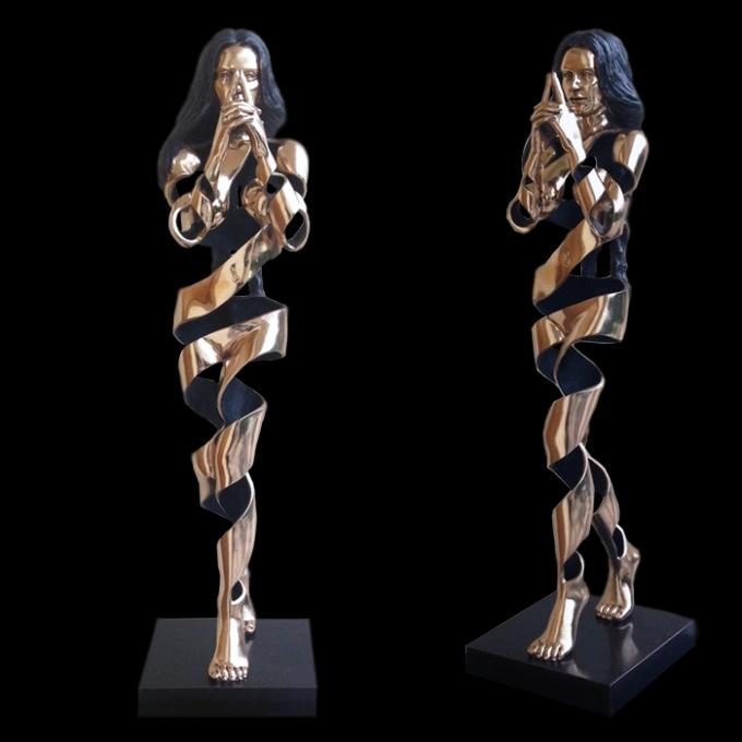 Mudra, bronzo, 97 cm