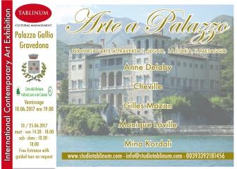 arte a palazzo gallio flyer